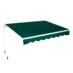 The Best Retractable Awning Option: AECOJOY 8.2'×6.5' Patio Awning Retractable Sun Shade