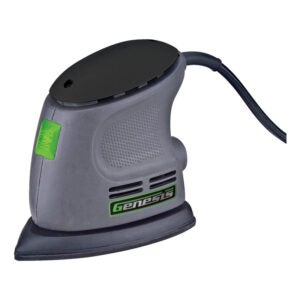 The Best Sander for Furniture Option: Genesis GPS080 Corner Palm Sander