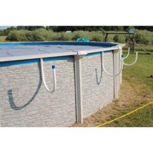 The Best Solar Pool Cover Option: Solar-EZ Inc. Solar Saddle Pool Solar Cover Holder