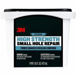 The Best Spackle Option: 3M High Strength Small Hole Repair