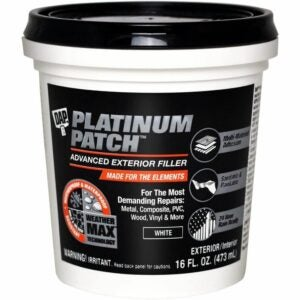 The Best Spackle Option: 7 DAP INC 18741 Platinum 16OZ Patch Filler