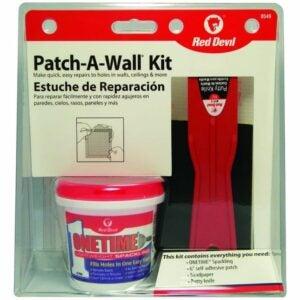 The Best Spackle Option: Red Devil 0549 ONETIME Lightweight Spackling Kit