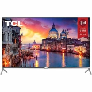 亚马逊黄金日最佳电视套餐:TCL 55R625B 55英寸QLED 6系列4K智能电视