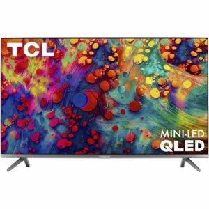 亚马逊Prime Day最佳电视套餐:TCL 65英寸6系列4K超高清杜比视觉智能电视