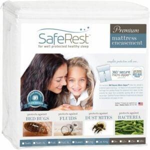 最佳床袋床垫盖板选项:更安全的优质床Bug床垫外壳