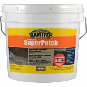 最佳混凝土裂缝填充选项:Damtite 04072混凝土超级补丁修复