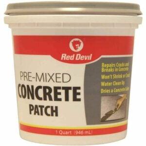 最佳混凝土裂缝填充选项:红魔鬼0644预混合混凝土贴片