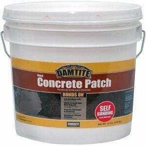 The Best Concrete Patch Option: Damtite 04012 Gray Bonds-On Vinyl Concrete Patch