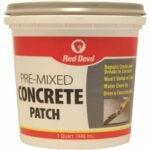The Best Concrete Patch Option: Red Devil 0644 Pre-Mixed Concrete Patch
