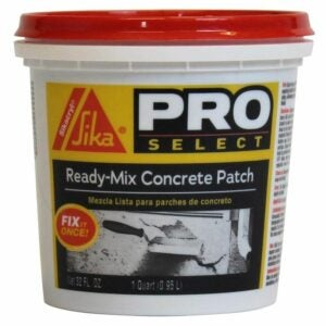 The Best Concrete Patch Option: SIKA - 472189 Sikacryl Ready-Mix Concrete Patch