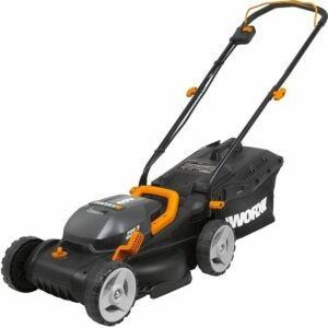 "The Best Cordless Lawn Mower Option: WORX WG779 40V Power Share 4.0 Ah 14"" Lawn Mower"