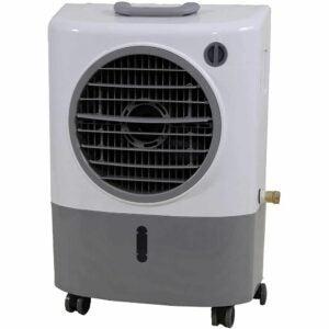 The Best Evaporative Air Cooler Option: HESSAIRE MC18M Indoor/Outdoor Portable