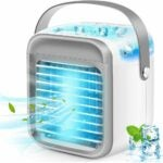 The Best Evaporative Air Cooler Option: iBaste Portable Air Conditioner, Rechargeable