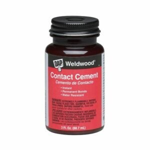 The Best Glue For Particle Board Option: DAP Contact Cement