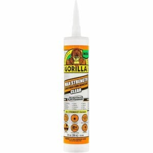 The Best Glue For Particle Board Option: Gorilla Max Strength Clear Construction Adhesive