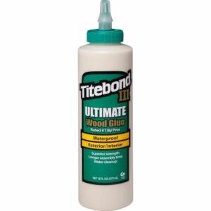 The Best Glue For Particle Board Option: Titebond 1414 Titebond III Ultimate Wood Glue