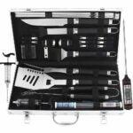 最佳烧烤工具套件选项:Grilljoy 24pcs BBQ格栅工具集