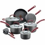 The Best Hard Anodized Cookware Option: T-fal Ultimate Hard Anodized Cookware Set, 12-Piece