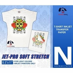 The Best Heat Transfer Paper Option: Jet-PRO SS JETPRO SOFSTRETCH Heat Transfer Paper