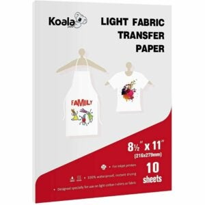 The Best Heat Transfer Paper Option: Koala Light T-Shirt Transfer Paper