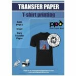 The Best Heat Transfer Paper Option: PPD Inkjet Premium Iron-On Dark T Shirt Transfers