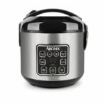 The Best Japanese Rice Cooker Option: Aroma Housewares 2-8-Cups Digital Rice Cooker