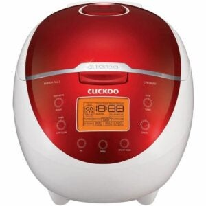 The Best Japanese Rice Cooker Option: Cuckoo CR-0655F Rice Cooker & Warmer, 6 Cups