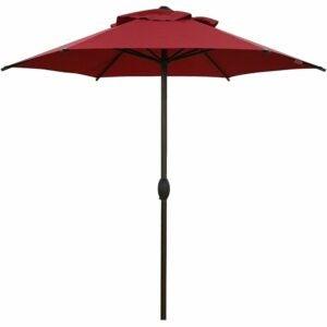 最好的庭院伞选项:Abba Patio 7.5ft露台伞