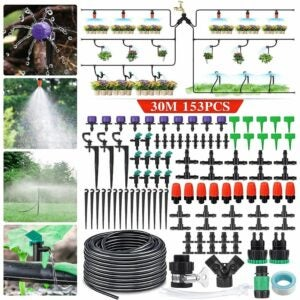 The Best Prime Day Lawn and Garden Option: king do way Irrigation System 95Ft DIY Irrigation Kit