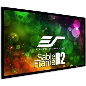 最好的投影仪屏幕选项: Elite Screens Sable Frame B2 120-INCH Screen