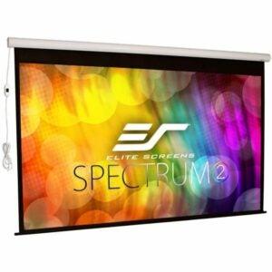 最好的投影仪屏幕选项:Elite屏谱谱2 110寸电动屏
