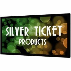 """最好的投影仪屏幕选项: Silver Ticket STR-169120 120"""" 16:9 4K HD Projector"""