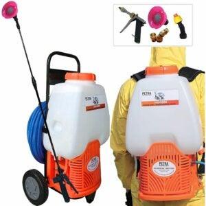 最好的泵喷雾器选项:Petratools供电背包喷雾器