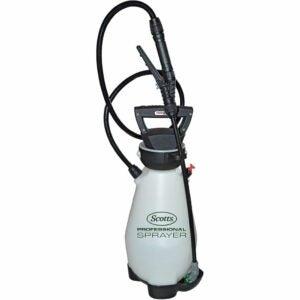 最佳泵式喷雾器选择:Scotts 190567锂离子电池动力泵