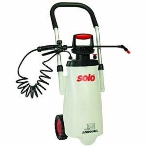 最佳泵式喷雾器选择:Solo 453 3加仑台车景观喷雾器