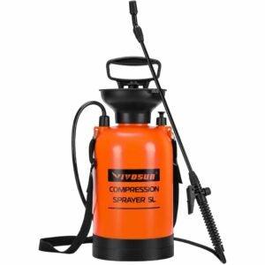 最佳泵式喷雾器选择:VIVOSUN 1.3加仑草坪和花园泵