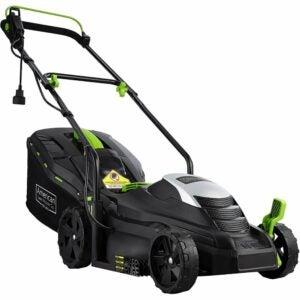 最好的推式割草机选择:美国割草机公司14英寸11安培绳