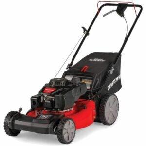 最好的推式割草机选择:Craftsman M215 159cc 21英寸三合一高轮前驱
