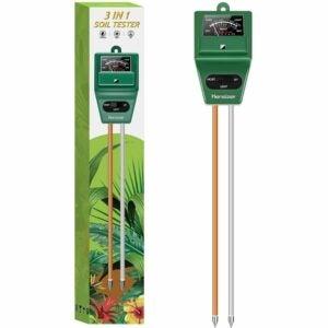 最佳土壤测试套件选项:敏捷3合1土壤水分/灯/ pH计