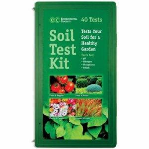 最佳土壤测试套件选择:光泽叶片1662专业土壤套件