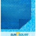 最好的太阳能池盖选项:Sun2Solar蓝色圆形太阳能罩|1600系列