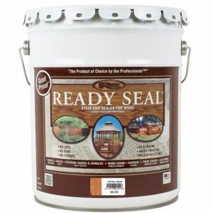 The Best Stain For Cedar Option: Ready Seal 512 Natural Cedar Exterior Stain