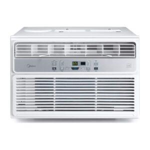 The best 10000 btu window air conditioner option: Midea MAW10R1BWT Window Air Conditioner Easycool AC