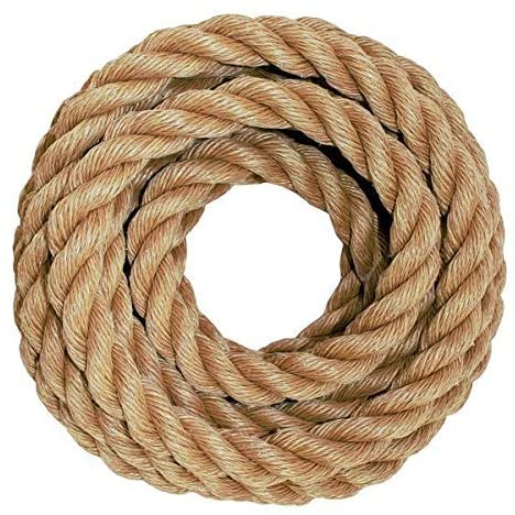types of rope - twisted
