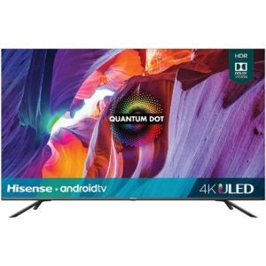 The Amazon Prime Day TV Deals Option: Hisense 55-Inch Class H8 Android 4K Smart TV