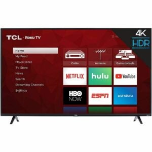 The Amazon Prime Day TV Deals Option: TCL 50S425 50 Inch 4K Smart LED Roku TV