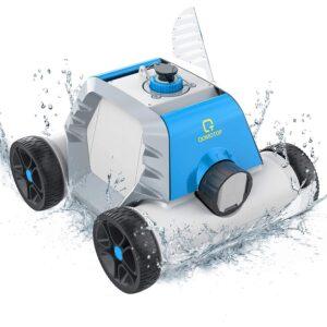 The Best Above Ground Pool Vacuum Option: OT QOMOTOP Robotic Pool Cleaner