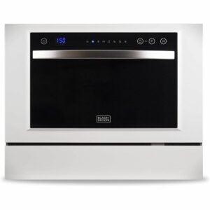 最佳Amazon Prime Deals选项:BLACK+DECKER紧凑台面洗碗机