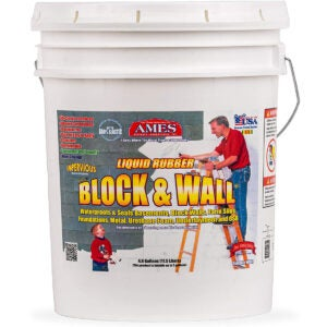 Best Exterior Paint for Stucco Options: AMES BWRF5 Water Base High Strength Elastomeric