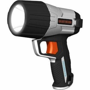 The Best Handheld Spotlight Option: BLACK+DECKER WPAK5B 500 Lumen Waterproof 5W LED